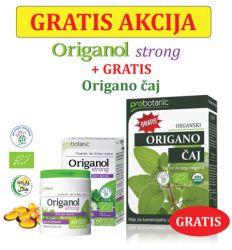 Probotanic ORIGANOL STRONG+origano čaj 10g GRATIS