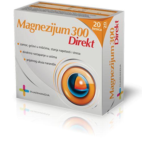 Magnezijum 300 Direkt kesice