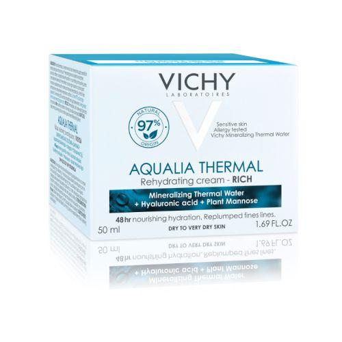 Vichy AQUALIA THERMAL Bogata krema za hidrataciju kože 50ml