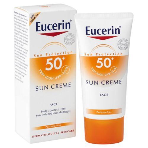 Eucerin SUN krema SPF50+ za lice šifra:63842