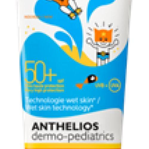 LRP ANTHELIOS dermo- pediatrics wet gel za mokru ili suvu dečiju kožu. Veoma visoka zaštita 250 ml
