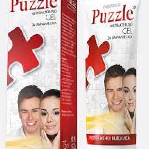 Puzzle gel - Antibakterijski gel za umivanje lica