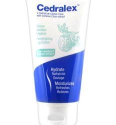 Cedralex krema za noge svojom bogatom teksturom nežno hidrira kožu i uz trenutni efekat hlađenja umanjuje osećaj teških i umornih nogu