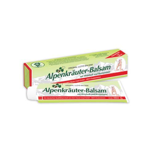 Alpski balzam za vene - Alpenkräuter Balsam je prirodni melem namenjen kod proširenih vena, ispucalih kapilara, bolnih, otečenih i teških nogu, poboljšanju oslabljene venske cirkulacije, ublažavanju i otklanjanju bolova u nogama i stopalima