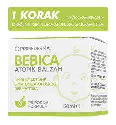 Bebica Atopik balzam 50ml - nega koze bebe - krema za lice i telo za bebu