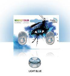 Sočiva u boji bez dioptrije Intervisus color blue - plava sociva