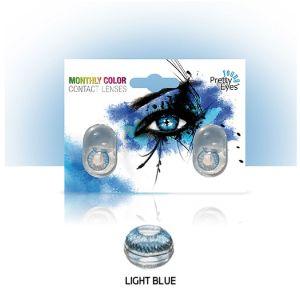 Sočiva u boji bez dioptrije Intervisus color blue