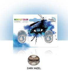 Sočiva u boji bez dioptrije intervisus color dark hazel - tamno braon sociva