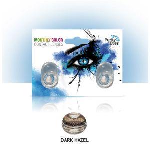 Sočiva u boji bez dioptrije intervisus color dark hazel
