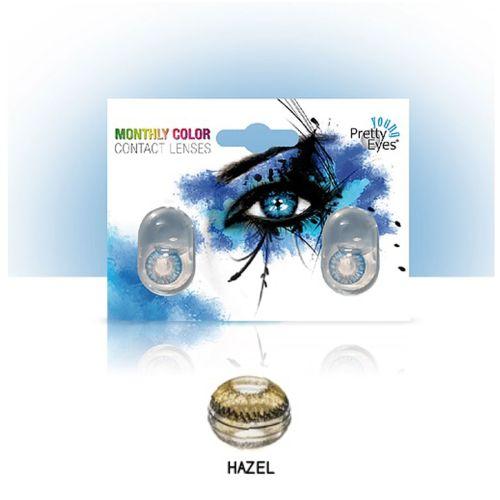 Sočiva u boji bez dioptrije Intervisus color hazel
