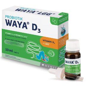 Waya LGG D3 probiotske kapi 10ml