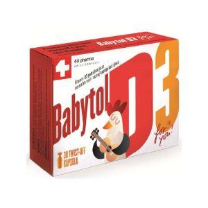 BABYTOL D3 twist off kapsule