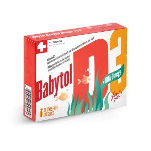 BABYTOL D3+omega twist off kapsule