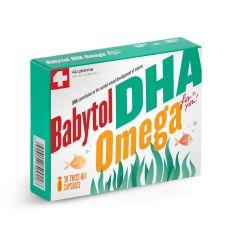 BABYTOL DHA omega twist off kapsule