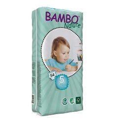 BAMBO pelene 5 junior 12-22kg, 54kom - pelene za bebe