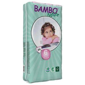 BAMBO pelene 6 maxi 16-30kg, 44kom