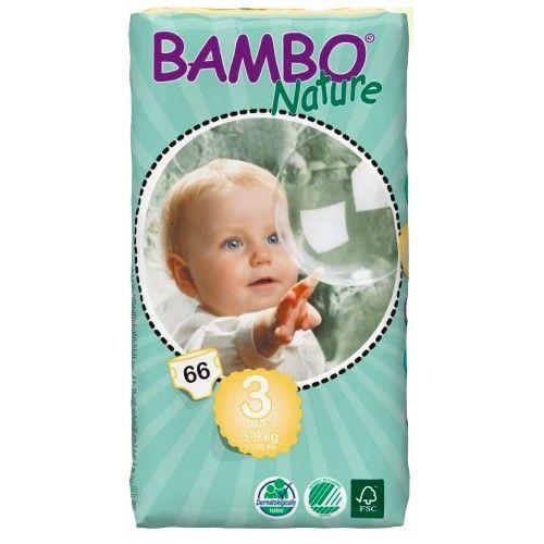 BAMBO pelene 3 midi 5-9kg, 66kom