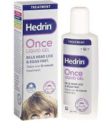 HEDRIN once liquid gel 100ml
