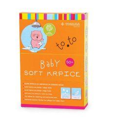 TOSAMA TO.TO Baby soft suve krpice 50 komada