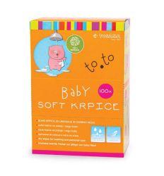 TOSAMA TO.TO Baby soft suve krpice 100 komada