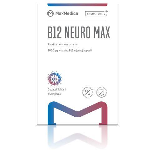 B12 NeuroMax MaxMedica - preparat za pamcenje i koncentraciju