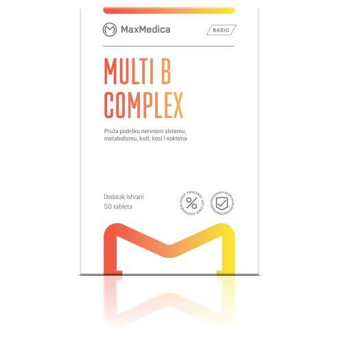 MULTI B kompleks MaxMedica 50 tableta- kompleks vitamina grupe B.