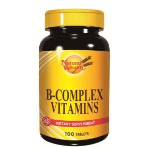 Natural Wealth B-kompleks vitamini 100 tableta