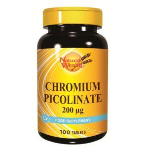 Natural Wealth Hrom pikolinat 100x200 µg