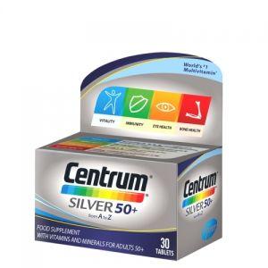 Centrum silver 50+ 30 tableta