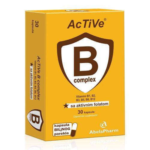 Active B kompleks 30kapsula