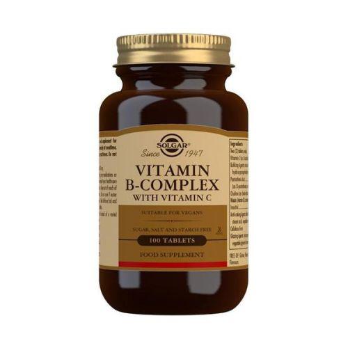 Solgar Vitamini B+Vitamin C 100 tableta