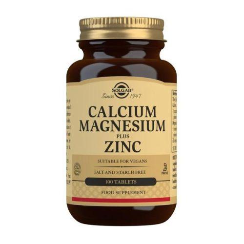 Solgar Kalcijum+Magnezijum+Cink 100 tableta