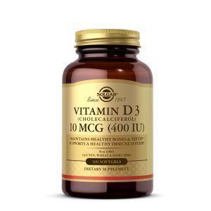 Solgar Vitamin D3 400IU 100 kapsula