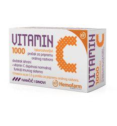 Lako rastvorljivi VITAMIN C 1000 kesice