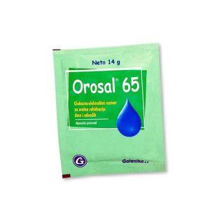 Orosal 65 prašak za oralni rastvor za rehidrataciju