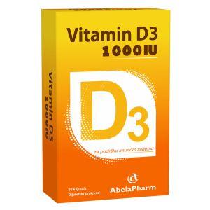 Vitamin D3 1000IU