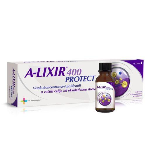 ALixir 400 prtoect bočice
