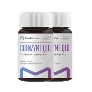 Coenzim Q10 30mg 1+1 gratis MaxMedica