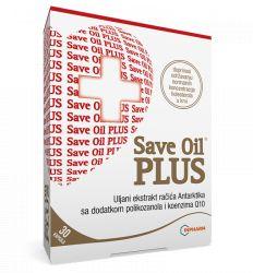 Save oil plus kril ulje sa dodatkom koenzima Q10 i polikozanola