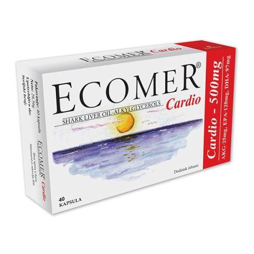 ECOMER CARDIO KAPSULE 40X500MG