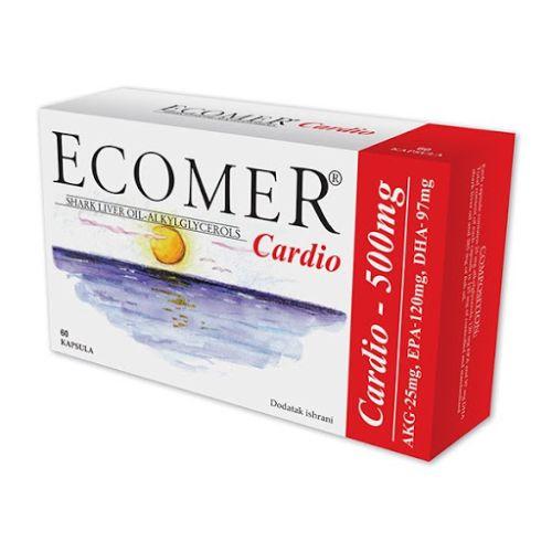 ECOMER CARDIO KAPSULE 60X500MG