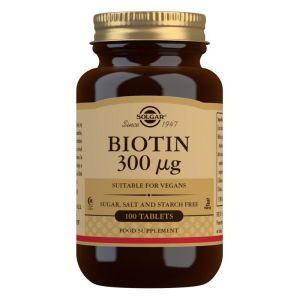 Solgar Biotin 300mcg 100 tableta