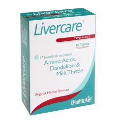 Livercare® tablete su jedinstvena kombinacijasilimarina, ekstrakata detoksikujućih biljaka- čičak, maslačak, kurkuma i artičoka ilipotropnih faktora