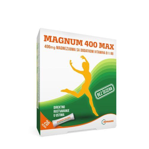 Magnum 400 Max direct kesice