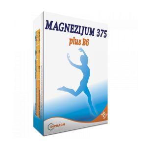 Magnezijum 375 plus B6 30 kapsula