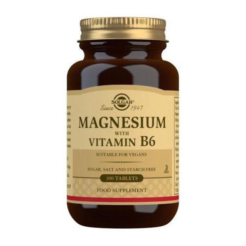 Solgar magnezijum sa vitaminom B6 100 tableta