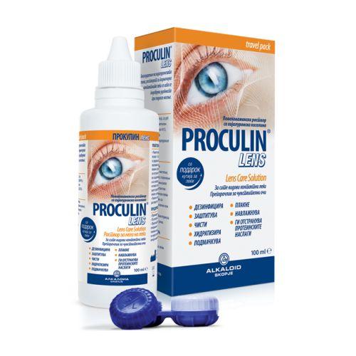 Proculin lens travel pack 100ml+kutija za sočiva