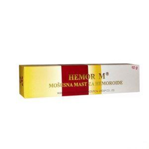 Hemor M - mošusna mast za hemoroide 10g