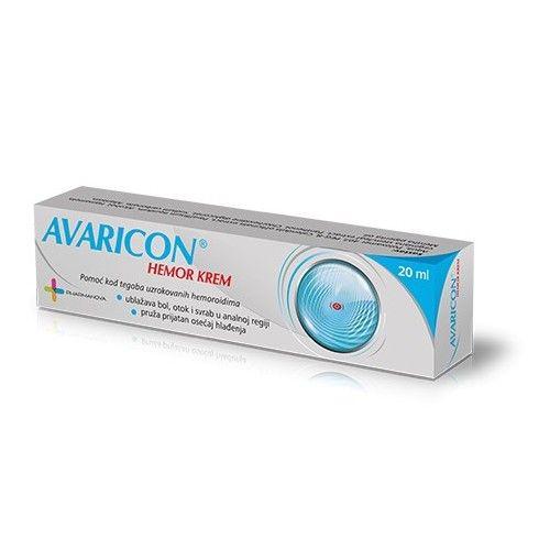 Avaricon hemor krem 20g