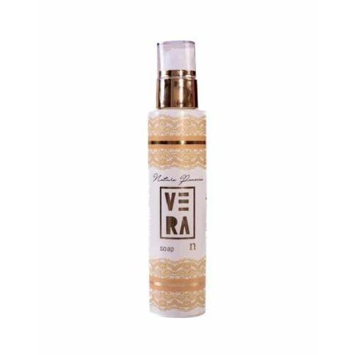 VERA S sapun je prirodan tečni sapun blagog mirisa za higijenu suve kože lica i tela